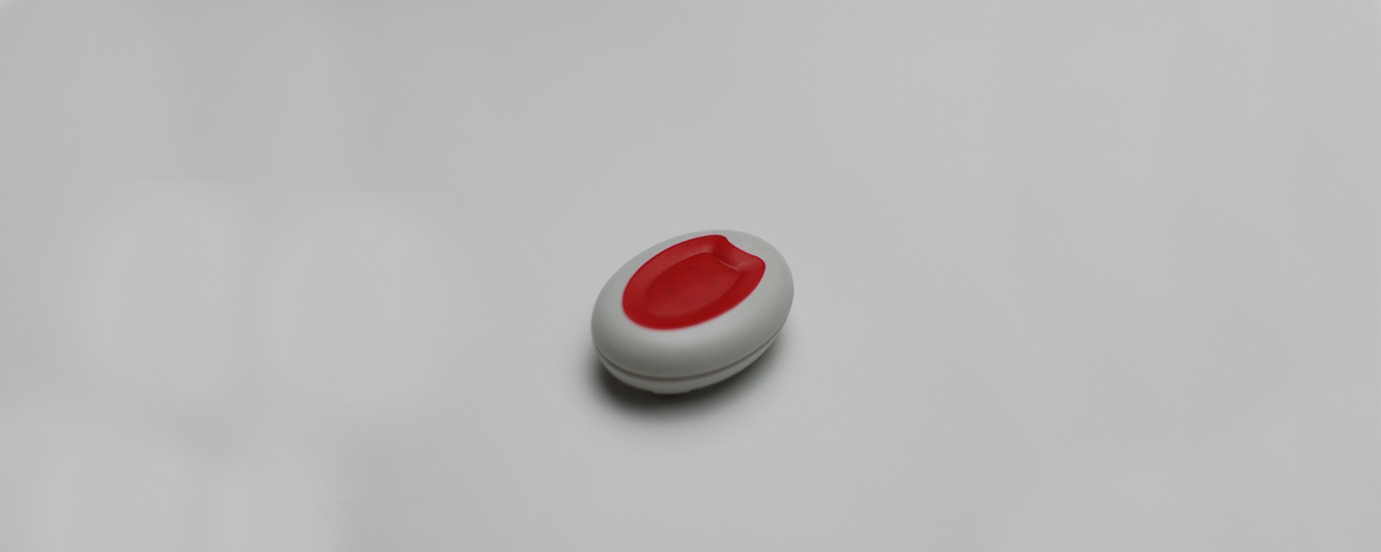 Red Button Pendant