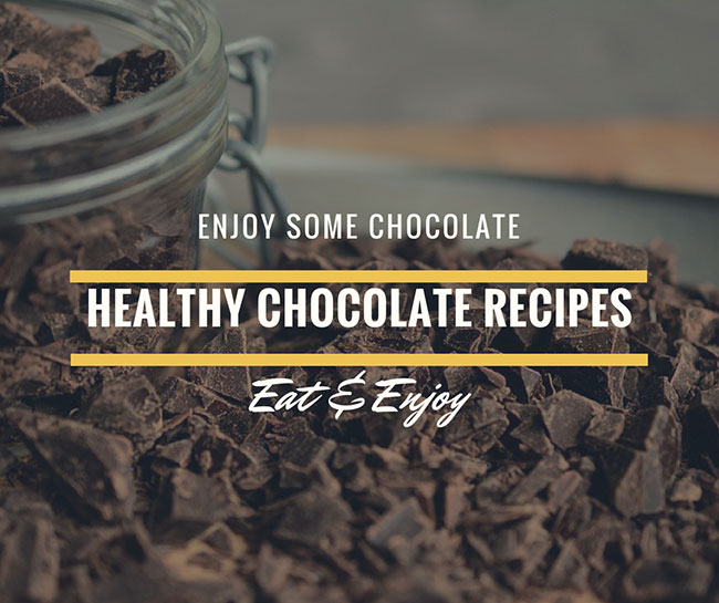 4 Healthy Chocolate Recipes