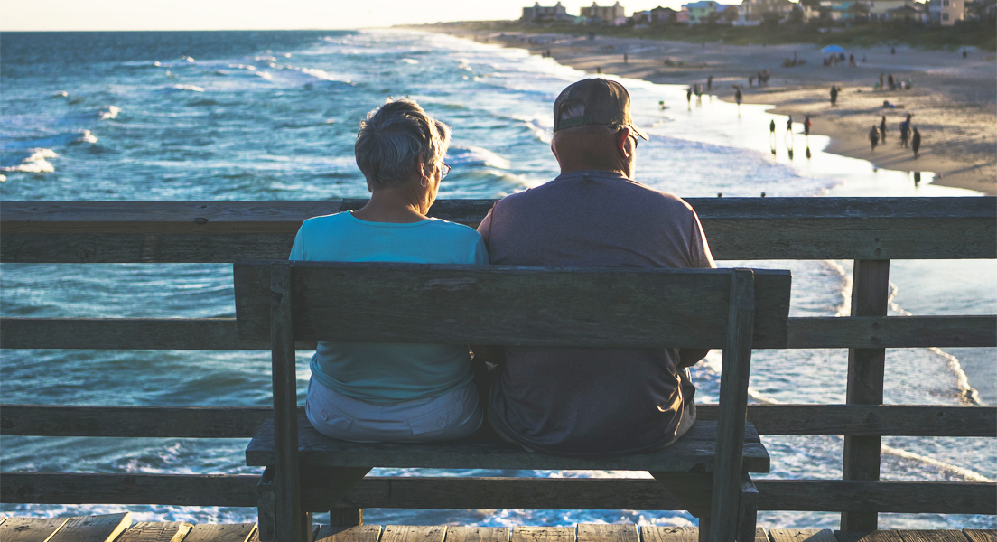Day trips for you and your elderly parents Beach