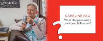 FAQ – What happens when the alarm is pressed?