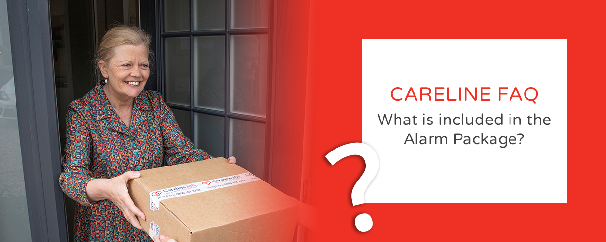What is included in the Careline Alarm Package?