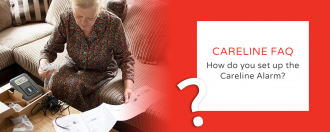 FAQ – How do you install the Careline Alarm?