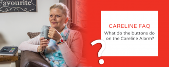 FAQ – What do the buttons do on the Careline Alarm?