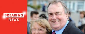 John Prescott hospitalised after suffering a stroke