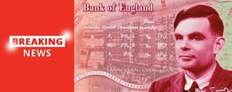 Alan Turing to Feature on the Bank of England's New £50 note