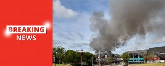 100's of Firefighters Tackling 'Major Incident'