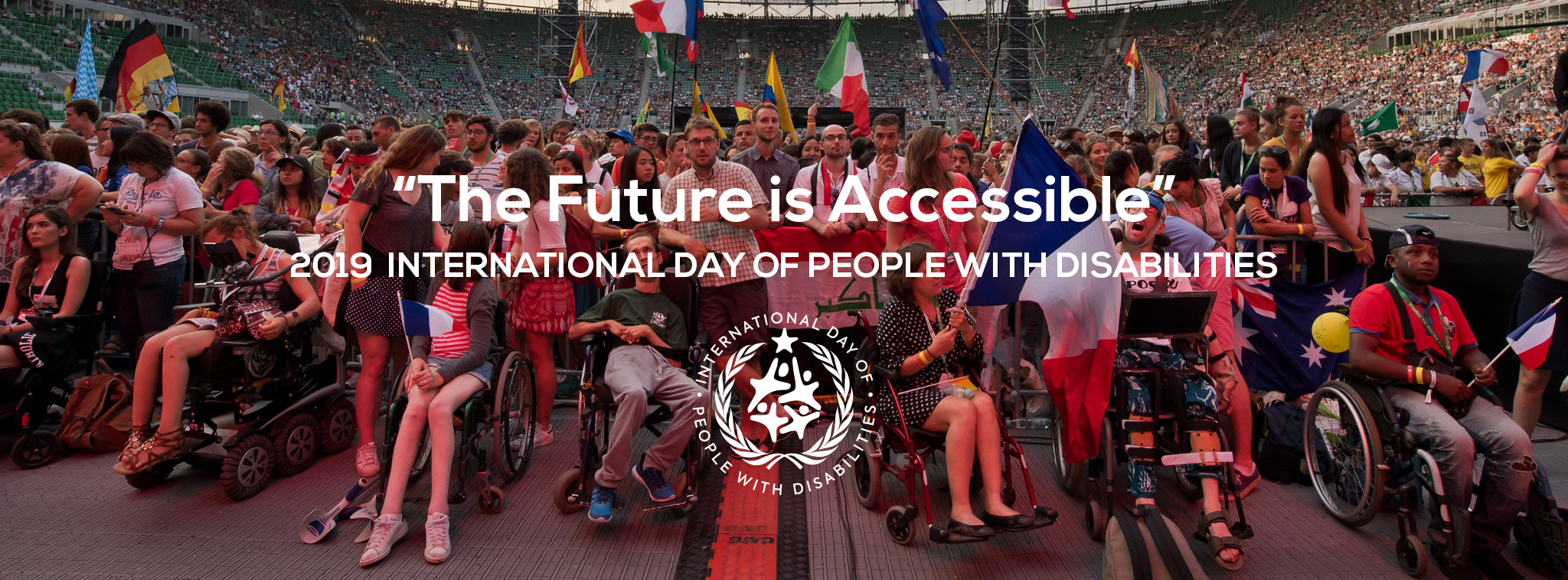 International Day of People With Disabilities the Future is Accessible Banner
