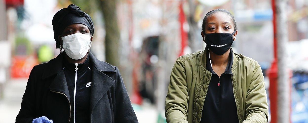 Wearing Masks Inside Shops