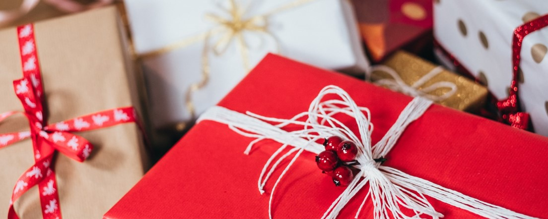 gift wrapped presents