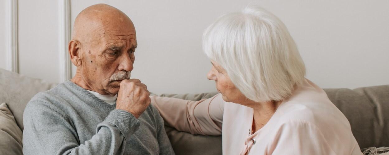 coughing may be a symptom of pneumonia in elderly people